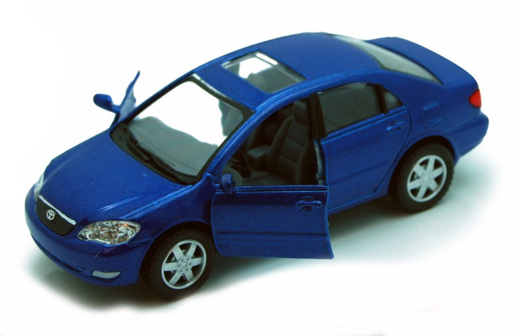 Kinsmart Toyota Corolla Blue 5099D 1 36 scale Diecast Model Toy Car but NO BOX