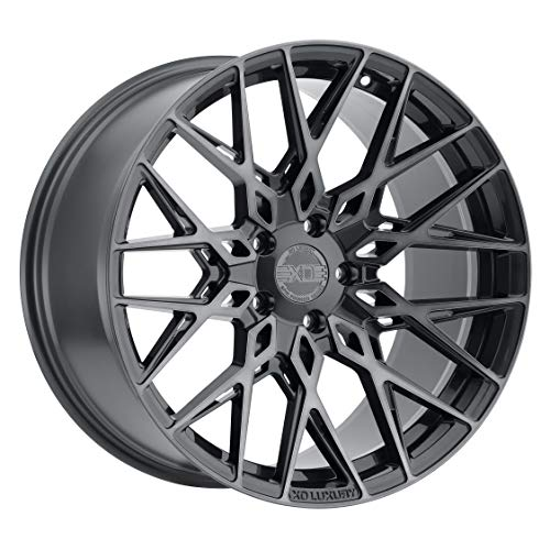 XO LUXURY Phoenix Gunmetal Wheel with Painted Finish (19 x 11 inches /5x120 mm, 40 mm Offset)