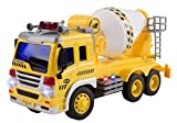 remote control 18 wheeler trucks - Remote Control Cement Truck RC Truck 1:16 Four Channel Full Function w/ Lights Battery Powered RC Truck Toy