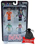 Walking Dead Prison Outbreak Minimates Box Set w/free storage bag