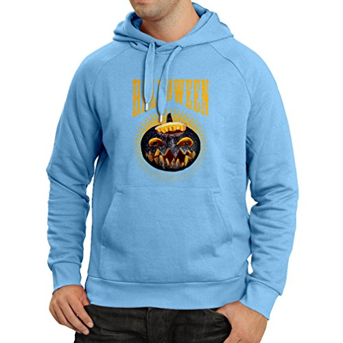 Hoodie Halloween Pumpkin - Clever Party Costume Ideas 2017 (Small Blue Multi -