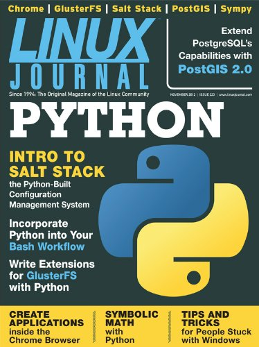 Linux Journal November 2012 Kindle Editon