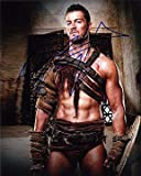 DANIEL FEUERRIEGEL (Spartacus) 8x10 Male Celebrity Photo Signed In-Person