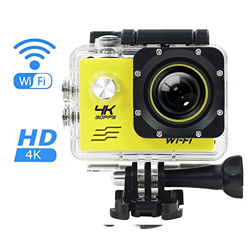 NATAMO Action Camera for Sports Photography, Waterproof WIFI