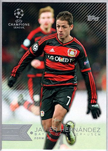 fan products of Soccer Pro 2015 Topps UEFA Champions League #115 Javier Hernandez NM-MT
