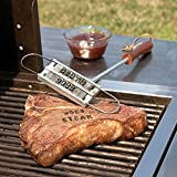 English DIY Tool Barbecue Grill Iron 55 Changeable Alphabet Personalized Meat Steak Burger for Kitchen Tool