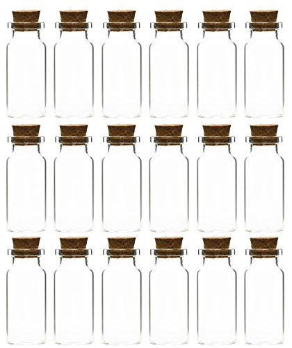 glass jars with cork stoppers - 6