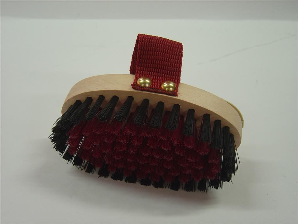 Vale Brothers Body Brush Childrens Claret Small S.D99C by Vale Brothers
