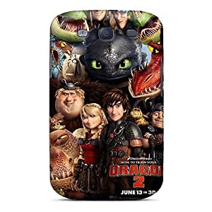 Samsung Galaxy S3 Dez19952ObSZ Unique Design Stylish How To Train Your Dragon Pictures Shock Absorbent Hard Phone Covers -AlissaDubois
