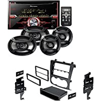 Pioneer Package: CD Receiver Double Din, Pair 6.5 2-Way & Pair 6x9 3-Way Speakers Nissan Altima 2007-2011 Double Din Radio Stereo Installation Dash Kit