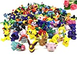 Pokemon Pikaqiu Monster Toy   Set Of 20   Collectible Action Figure   Randomly Small Gift   Cupcake Toppers For Birthday Party Supplies