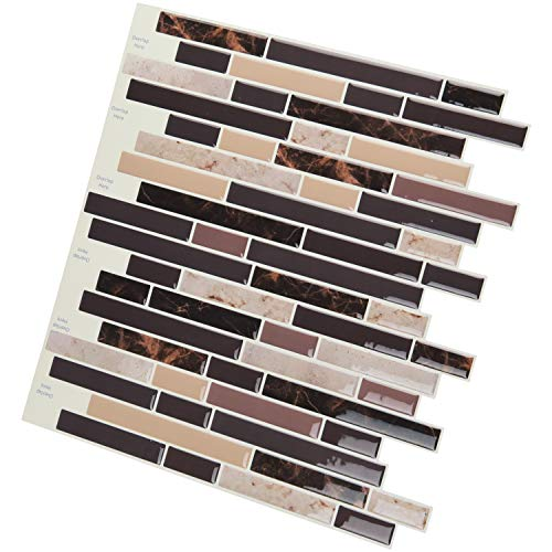 Art3d Self Adhesive Wall Tile Peel and Stick Backsplash for Kitchen (10 Tiles) by Art3d (Image #3)