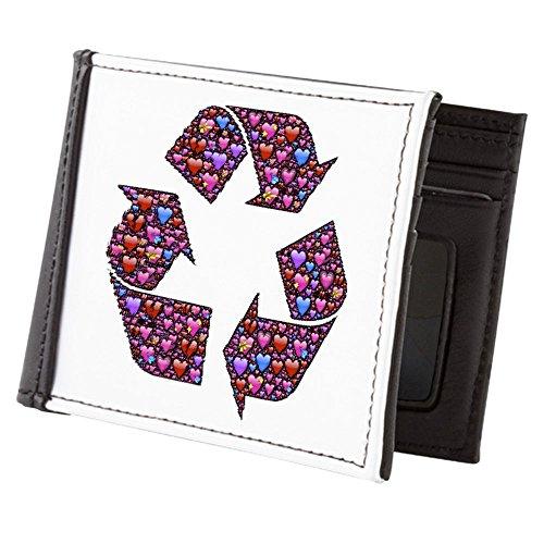 Billetera Reciclar Verdaderamente Los Corazones Amo Hombres Teague Carpeta Con De Símbolo 4wqFd0