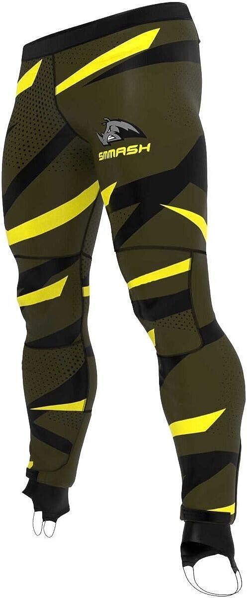 SMMASH Twister Maglia Termica Running Uomo Manica Corta Outdoor Materiale Antibatterico Prodotto nellUnione Europea Camicia Sportiva Slim Fit Traspirante e Leggero Ocr