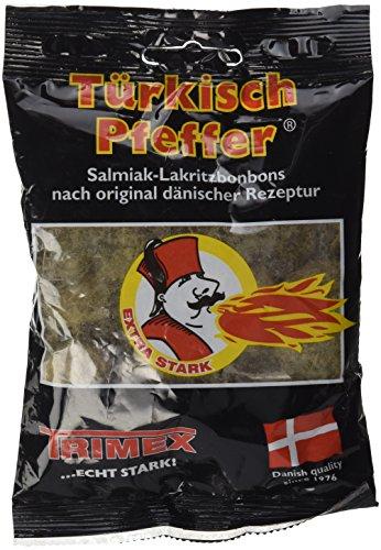 (Turkish Pepper Salmiak Licorice Bag 3.53 Oz)