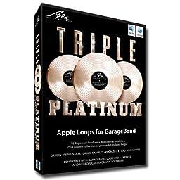 Triple Platinum Apple Loops for Garageband Logic Or Logic Express