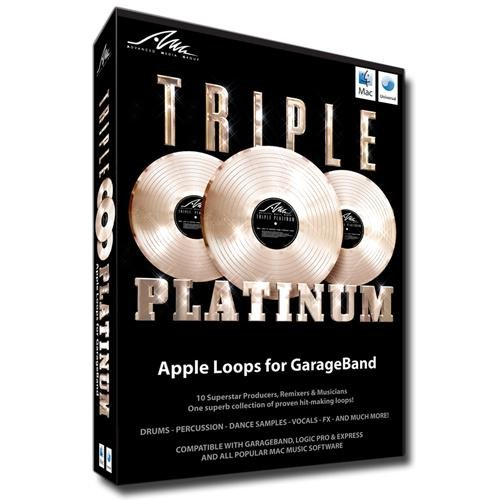 Triple Platinum Apple Loops for Garageband Logic Or Logic Express