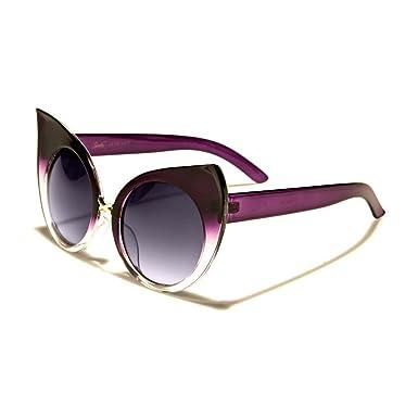 hotrodspirit - lunette de soleil femme cat eye vieux rose noir ideal pin up 3H3aHz