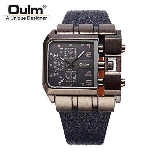 La marca de lujo de los relojes de los hombres KSD correa de Nylon del deporte ...