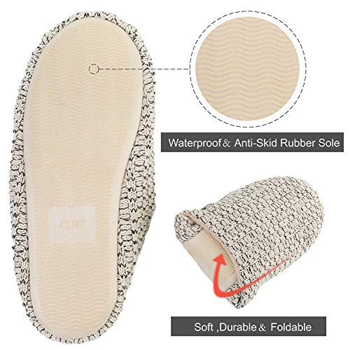House Sole Meter Outdoor Black Shoes Non Demon Indoor Slip Slippers Centipede Men's Women's amp; Knitted Coral Velvet 0TwpH
