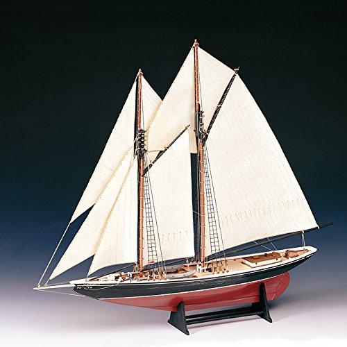 木製帆船模型 ブルーノーズ(60分の帆船模型製作入門DVD及び和訳付き) B014VR8716