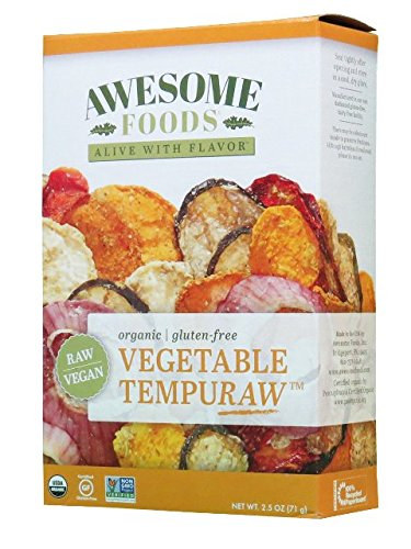 Vegetable Tempuraw, 4 Pack by Awesome Foods