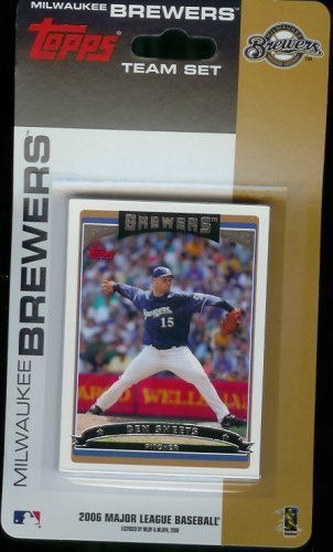 MLB Milwaukee Brewers Licensed 2006 Topps® Team Sets ()