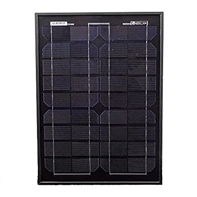 20 Watts Solar Panel 12V Mono Battery Charger for Trucks - Mighty Max Battery brand product