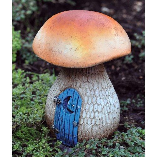 Fairy Garden Mushroom Outhouse