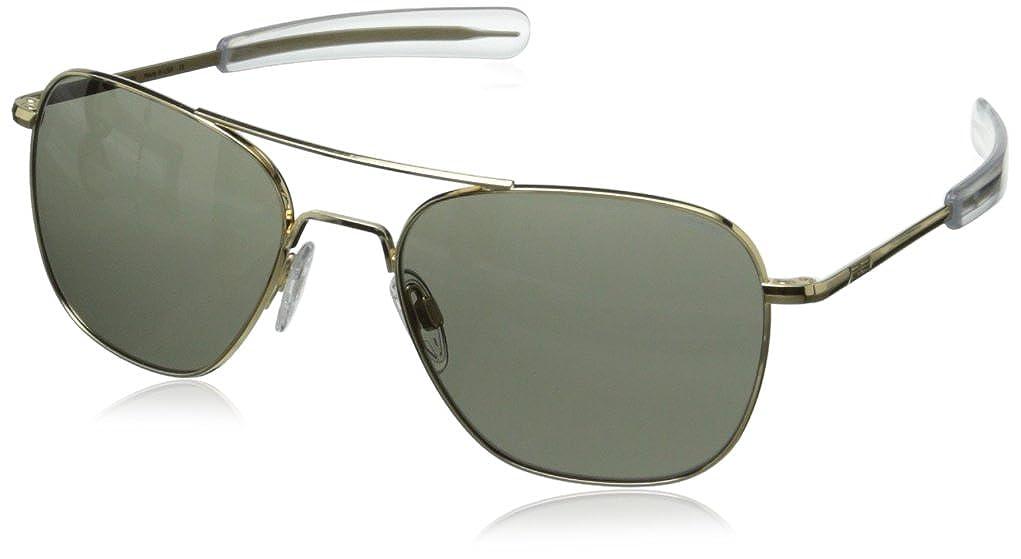 aviators glasses x6s1  Amazoncom: Randolph Aviator Square Sunglasses, 58, 23K Gold, Bayonet, Gray  Lenses: Clothing