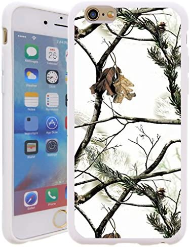 [해외]Untouchble Case for APIP74.7UTTPU-SET02 검정 / Untouchble Case for Apple iPhone 7 (4.7) | iPhone 7 Case Gel Case [Flex Max] One Piece Silicone Rubber TPU Flexible Case with Design - Snow Hunt Camo