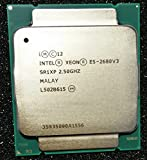 INTEL CM8064401439612 Xeon E5-2680 v3 Twelve-Core Haswell Processor 2.5GHz 9.6GT/s 30MB LGA 2011-v3 CPU, OEM OEM