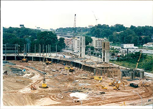 Atlanta Olympic Stadium - Vintage photo of New olympic stadium Atlanta GA.