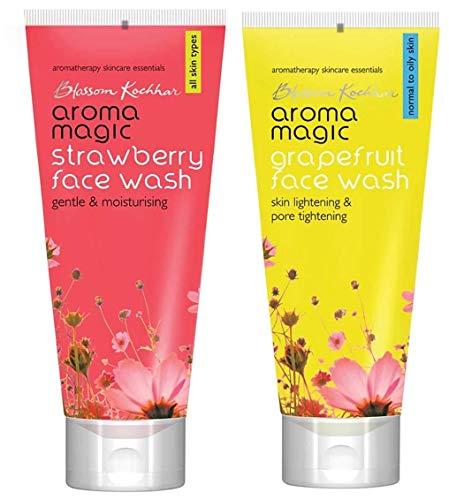 Aroma Magic Face Wash 100 ml  Strawberry  and Aroma Magic Face Wash 100 ml  Grapefruit