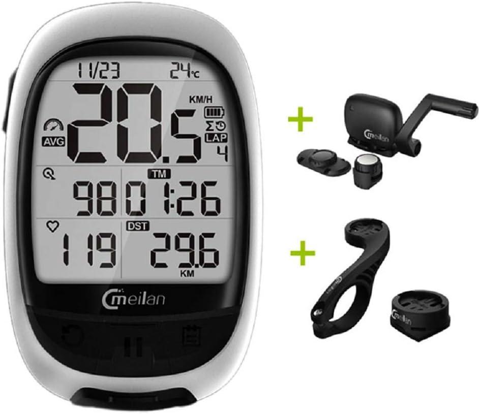 TGX Meilan M2 - Navegador GPS para Bicicleta (Bluetooth Ant+ y ...