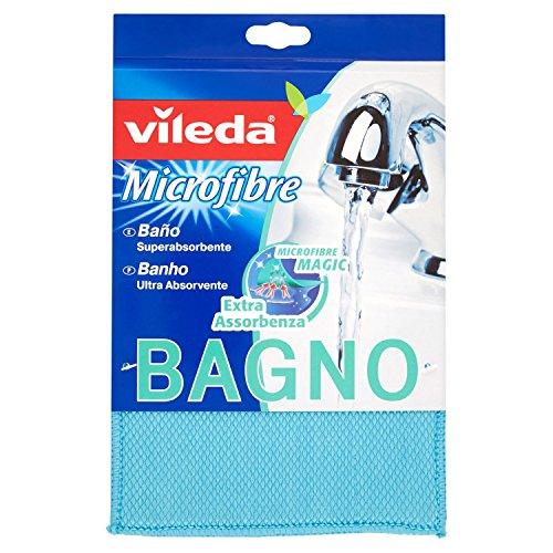 Vileda badspons, extra absorberend, ideaal voor badreiniging, blauw