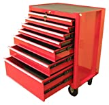 Excel TB2050BBSB-Red 27-Inch Steel Roller Cabinet, Red