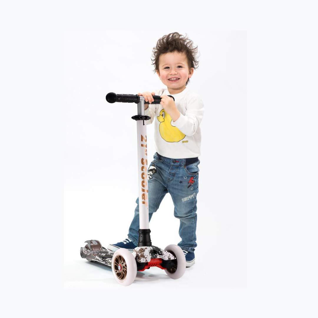 卸し売り購入 TLMYDD B07NMX6ZPG 子供の四輪スクーター落書きベビースライド折りたたみ折りたたみスクーター TLMYDD 子供スクーター (色 : A) 子供スクーター B07NMX6ZPG A, 多良見町:5620b9fd --- a0267596.xsph.ru