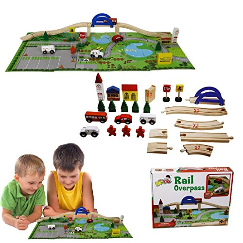 dazzling-toys-wooden-vehicle-mountain-set-with-bridge-riding-on-a-puzzle-mat