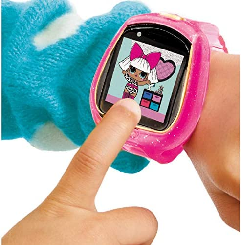 LOL Surprise Smartwatch and Camera for Kids with Video - Fun Game Activities, Learning Apps, Fashionable Accessory, Fun Sound Effects, 100+ Expressions, and Reactions | for Kids Ages 6 Years Above