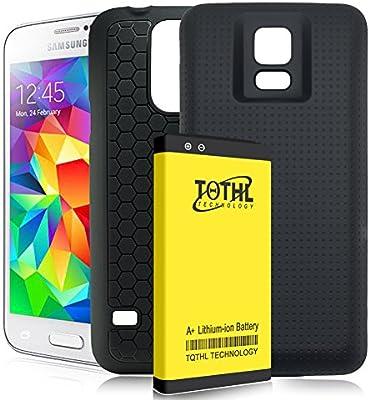 Amazon.com: tqthl Samsung Galaxy S5 [8800 mAh] Batería ...