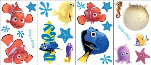 Self Applique - Blue Mountain Wallcoverings GAPP1763 Finding Nemo Self-Stick Room Appliqués
