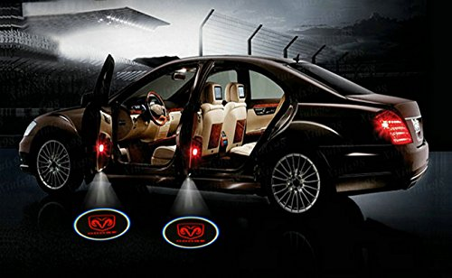 Amazon.com 2 X Black 5th Gen car door Shadow laser projector logo LED light for dodge all series challenger viper charger ram 1500 2500 3500 dart diesel ... & Amazon.com: 2 X Black 5th Gen car door Shadow laser projector logo ...