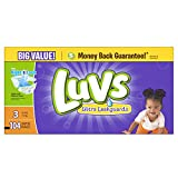 Health & Personal Care : Luvs Ultra Leakguards Diapers (16-28 lb) - 104 CT