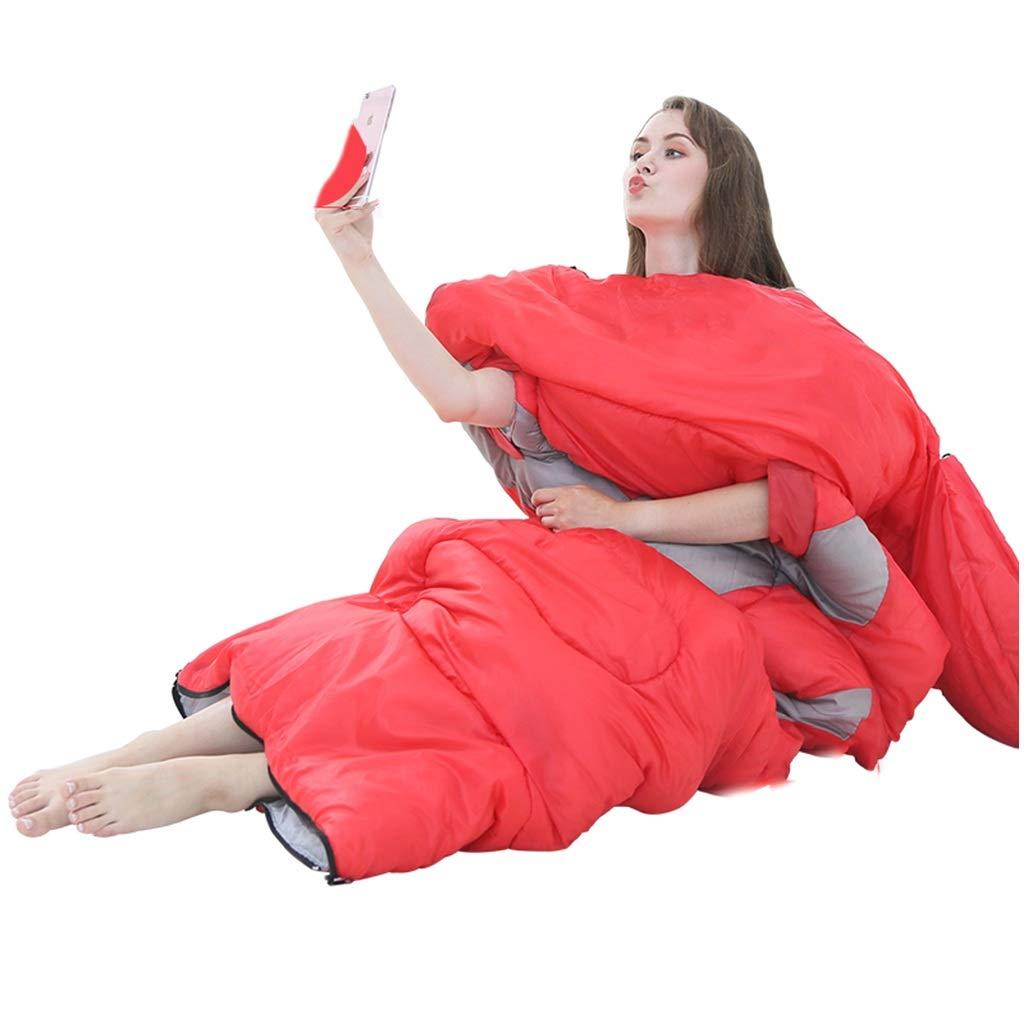 寝袋アウトドアキャンプ大人用屋内ランチブレイクホテルアイソレーションダーティポータブル(10°C以上に最適) (色 : B) B07P6B9JNJ C  C