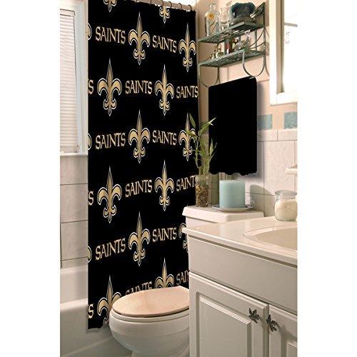 New Orleans Saints Shower Curtain, Saints Shower Curtain