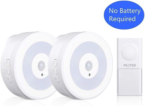 2 x récepteur portable porte sonnette sans fil à batterie piles AA blanc inc