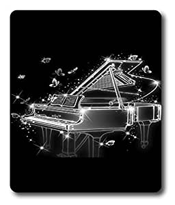 hard or soft mouse pad for gaming Cool Black And White Piano PC Custom Mouse Pads / Mouse Mats Case Cover by icecream design