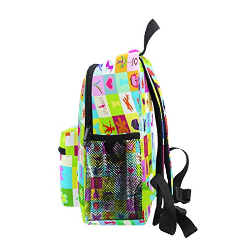 Animal Kindergarten Bag for Pre Kids Cute ZZKKO Colorful Boy School Girls Backpack Toddler 1qwExzAH