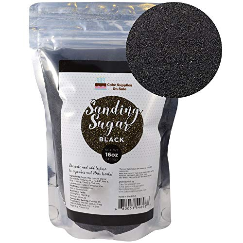 Sanding Sugar Black 16 Oz]()